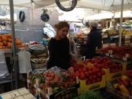Market in Campo De' Fiori in Rome