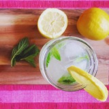 Minty Lemonade Spritzer